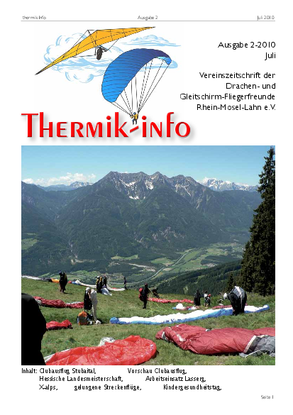 Thermik-Info 2010-02